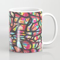 folk Mugs featuring Folk by k_c_s