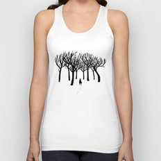 A Tangle of Trees Unisex Tank Top