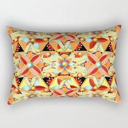 Boho Chic Suzani Star Rectangular Pillow