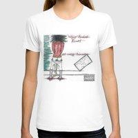 mozart T-shirts featuring Wolfgang Amadeus Mozart: 21st Century Resurrection by Meagan Harman