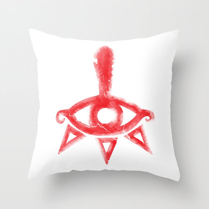 Yiga Clan Symbol Throw Pillow