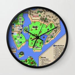 Super Mario NYC Wall Clock