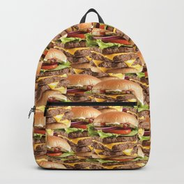 Triple Stack Attack Burger Backpack