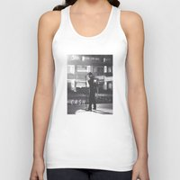 johnny cash Tank Tops featuring Johnny Cash by Earl of Grey