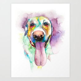 dog#24 Art Print