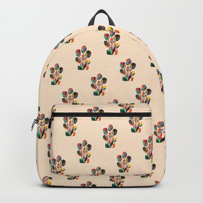 Ikebana - Geometric flower Backpack