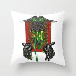 Viper Gut Throw Pillow