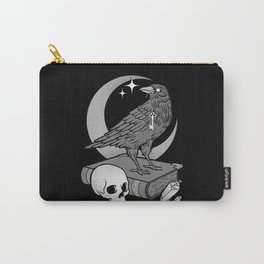 Occult Crow Carry-All Pouch
