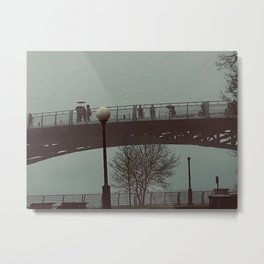 Bridge in Niagra, New York Photography by Willowcatdesigns Metal Print