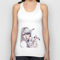 cuddle Tank Tops featuring Cuddle! by Koanne Ko