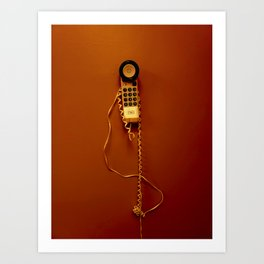 Phoning It In Art Print