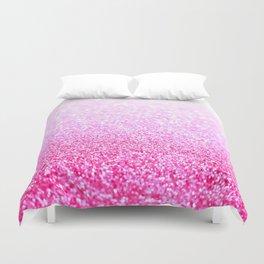 Pink Lavender Sparkle Glitter Duvet Cover