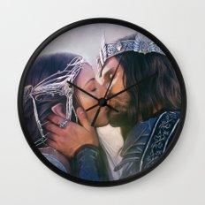 Arwen and Aragorn Wall Clock