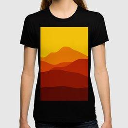Mountains at Sunset  #society6 #decor #buyart #artprint T-shirt