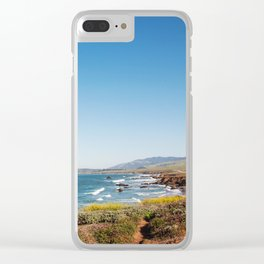 The Central Coast Calls Clear iPhone Case