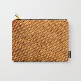 Honeycomb texture Carry-All Pouch