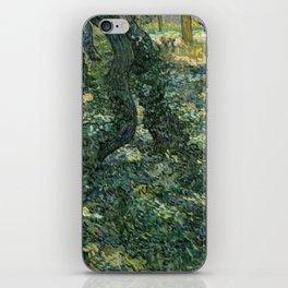 Undergrowth by Vincent van Gogh iPhone Skin