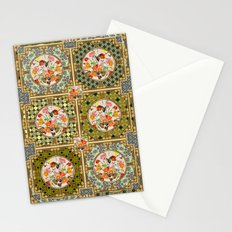 Persian Tile Butterfly Variation Stationery Cards