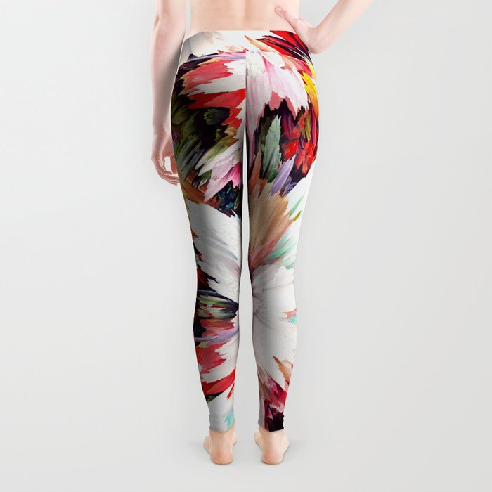 Floral Explosion Leggings