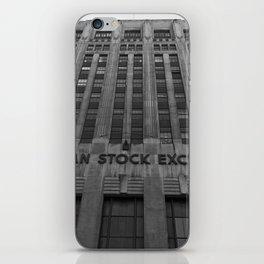 American Stock Exchange iPhone Skin