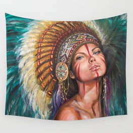 Sioux  Wall Tapestry