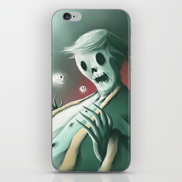 The haunted thoughts iPhone Skin