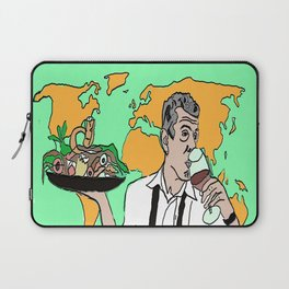 The colorful life of Anthony Bourdain Laptop Sleeve
