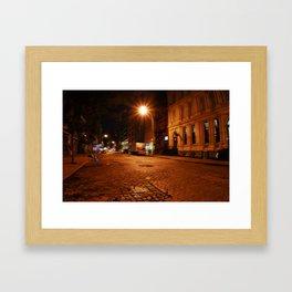 Shaken Framed Art Print