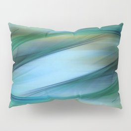 Soft Feathered Lights Abstract Pillow Sham