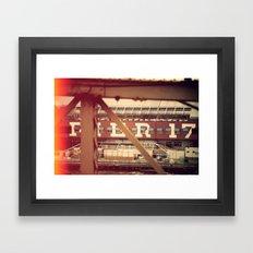 (Faux) Vintage NY, NY Framed Art Print