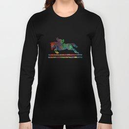Horseback Riding Long Sleeve T-shirt