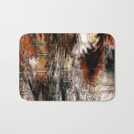 Feathered Expressions Bath Mat
