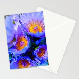 Hawaiian Lily Pads Stationery Cards