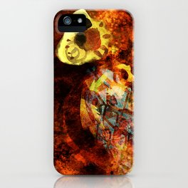 Chasing bugs. iPhone Case