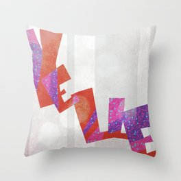 Yelle Throw Pillow