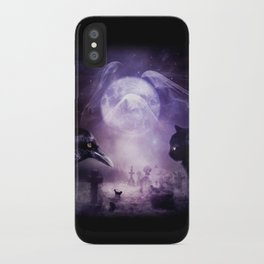 In The Glow of Darkness We Wait iPhone Case