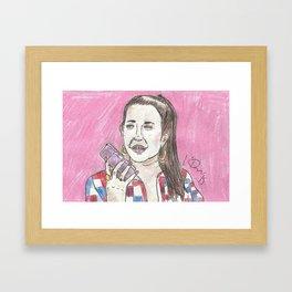Nancy Jo... This Is Alexis Neiers Calling Framed Art Print