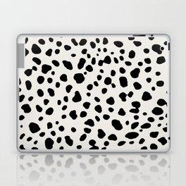 Polka Dots Dalmatian Spots Laptop & iPad Skin