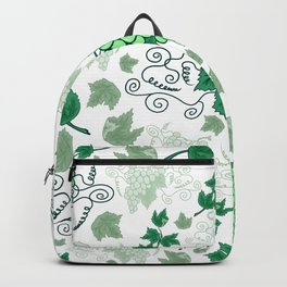 Bunches of grapes Backpack