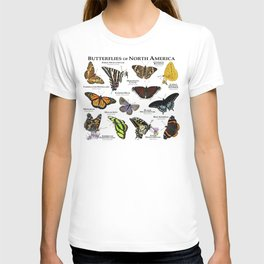 Butterflies of North America T-shirt