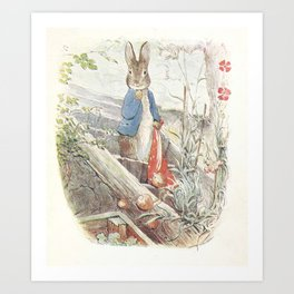 Peter Rabbit Art Print