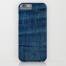 denim*Trompe l'oeil iPhone Case