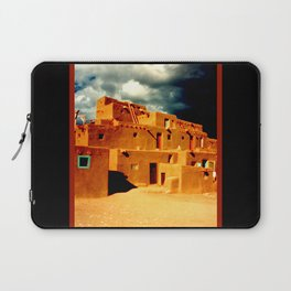 Taos Pueblo Laptop Sleeve