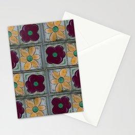 Big Red Poppy and Big Yellow Daisy Quad Flip Stationery Cards