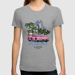 Miami, bedrock of diversity! T-shirt