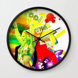 Feel The Love Wall Clock