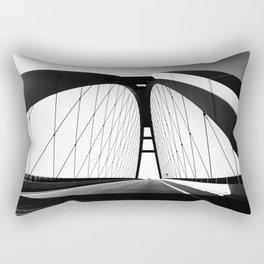 FEHMARNSUNDBRüCKE Rectangular Pillow