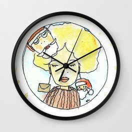 Babbo Natale pensaci tu! Wall Clock