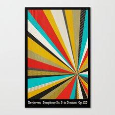 Beethoven - Symphony No. 9 Canvas Print