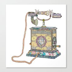waiting for your call since 1896 Canvas Print